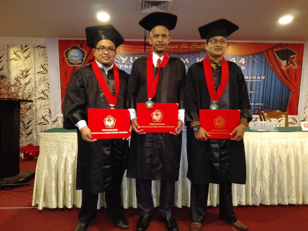 Dosen Senior IAI Al-Aziziyah Samalanga Meraih Predikat Terbaik dalam Yudisium UINSU