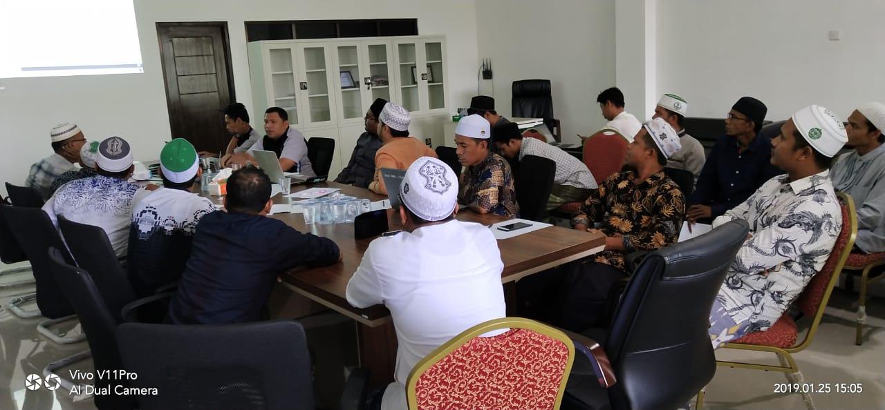 IAI Al-Aziziyah Samalanga Menggelar Pelatihan SIAKAD kepada Dosen dan Staf