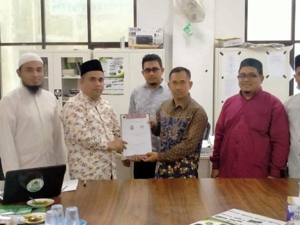 FUAD IAIN Lhokseumawe Jalin Kerjasama dengan FDK IAI Al-Aziziyah Samalanga
