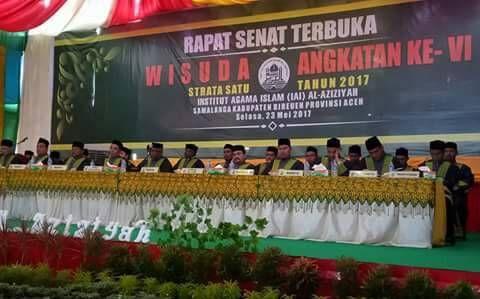 Wisuda Angkatan ke-VI Tahun 2017