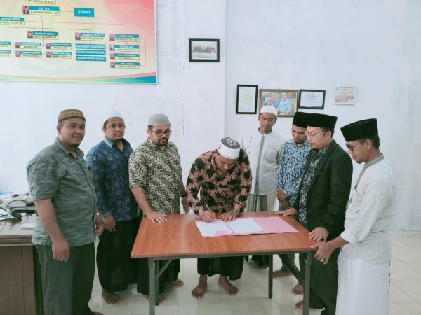 IAI Al-Aziziyah Samalanga Melakukan MOU dengan STIS Ummul Ayman
