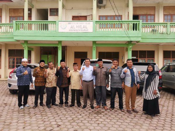 Fakultas Syari'ah dan Ekonomi Islam IAIA Samalanga Melakukan Kerjasama dan MoU dengan PTIS Al-Hilal Sigli