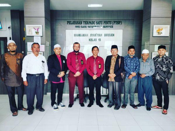 FSEI IAI Al-Aziziyah Samalanga Jalin Kerjasama Mahkamah Syar'iyah Bireuen