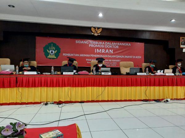 Hari Ini, Alumni MUDI Samalanga Sidang Doktor di UIN Ar-Raniry Banda Aceh