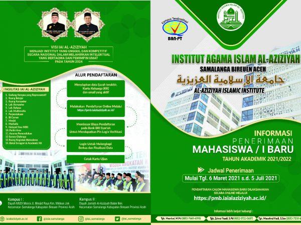 IAI Al-Aziziyah Samalanga Kembali Membuka Pendaftaran Calon Mahasiswa Baru