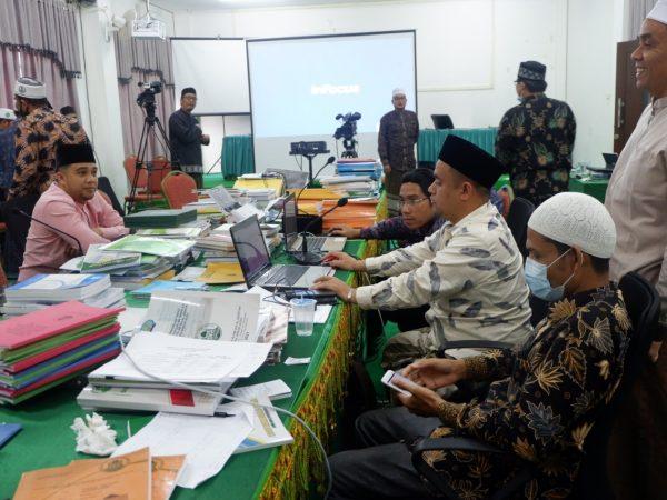 BAN PT Melakukan Asesmen Lapangan Daring Akreditasi Institusi IAI Al-Aziziyah Samalanga