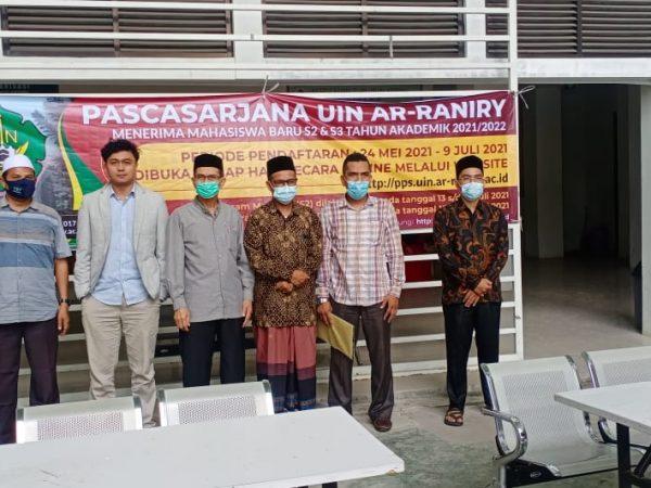 UIN Ar-Raniry Banda Aceh Silaturrahmi dan Sosialisasi Program Pascasarjana di IAIA Samalanga
