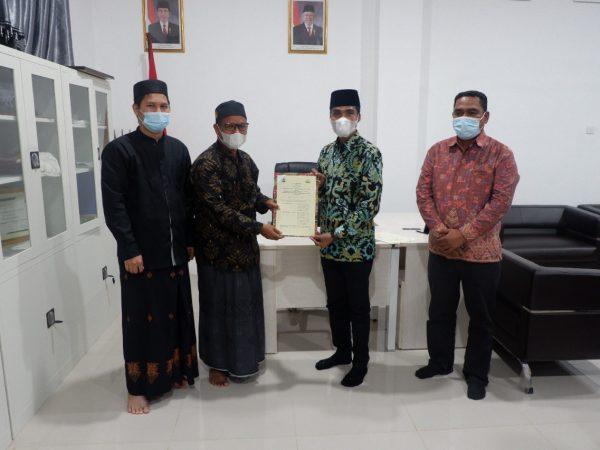 IAI Al-Aziziyah Samalanga Tandatangani MoU dengan BPSDM Aceh